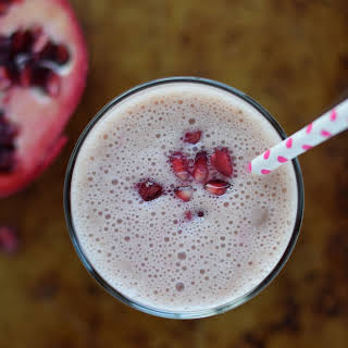 Pink Pomegranate Smoothie.