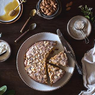 Ricotta and Almond Polenta Cake {Gluten-Free}