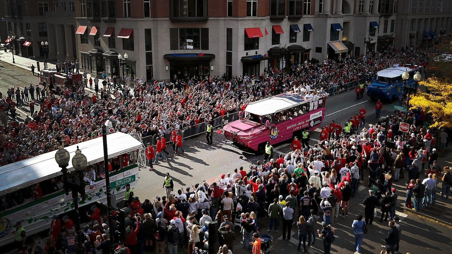 Watch Boston Red Sox World Series Parade 2018 live