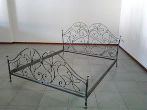 Photo: Letto in ferro battuto