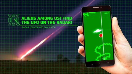 雷达定位的UFO的模拟器