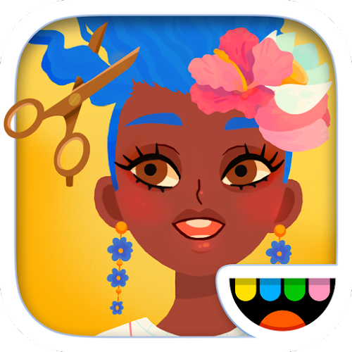 Toca Hair Salon 4 (Unlocked) 1.6.1-play mod