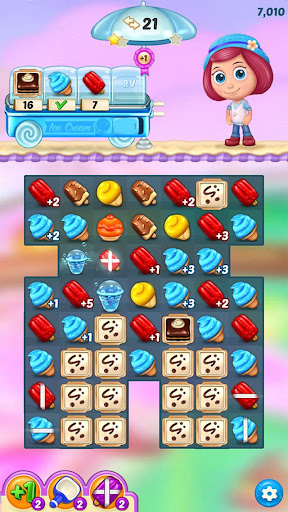 Ice Cream Paradise - Match 3 Puzzle Adventure screenshots 8
