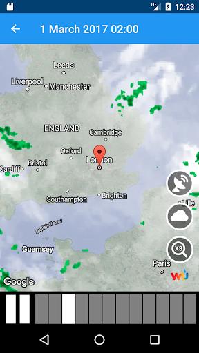 Weather Switzerland XL PRO screenshot 5
