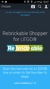 Rebrickable Shopper- screenshot thumbnail