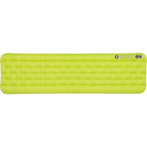 "Big Agnes Q-Core SLX Sleeping Pad: Bright Yellow, 20 x 72"""