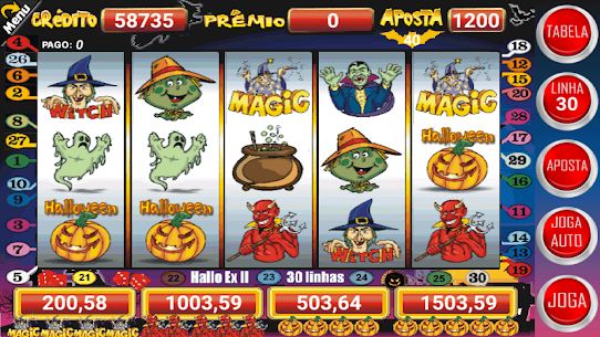 Halloween Slots 30 Linhas Multi Jogos Apk Latest Version Download For Android 3
