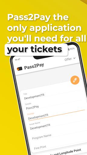Pass2Pay screenshot 1