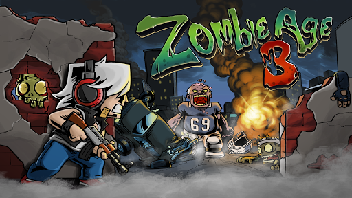 Zombie Age 3HD: Offline Zombie Shooting Game androidiapk screenshots 1