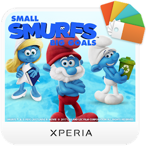 XPERIA™ Team Smurfs™ Theme icon