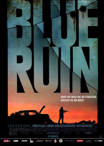 Przód ulotki filmu 'Blue Ruin'