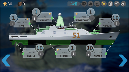 Sea Battle : Submarine Warfare screenshots 16