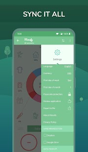 Monefy - Budget Manager and Expense Tracker app Screenshot