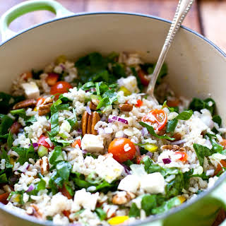 Cold Brown Rice Salad Recipes.