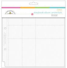 Doodlebug Page Protector Assortment 8X8 12/Pkg UTGÅENDE