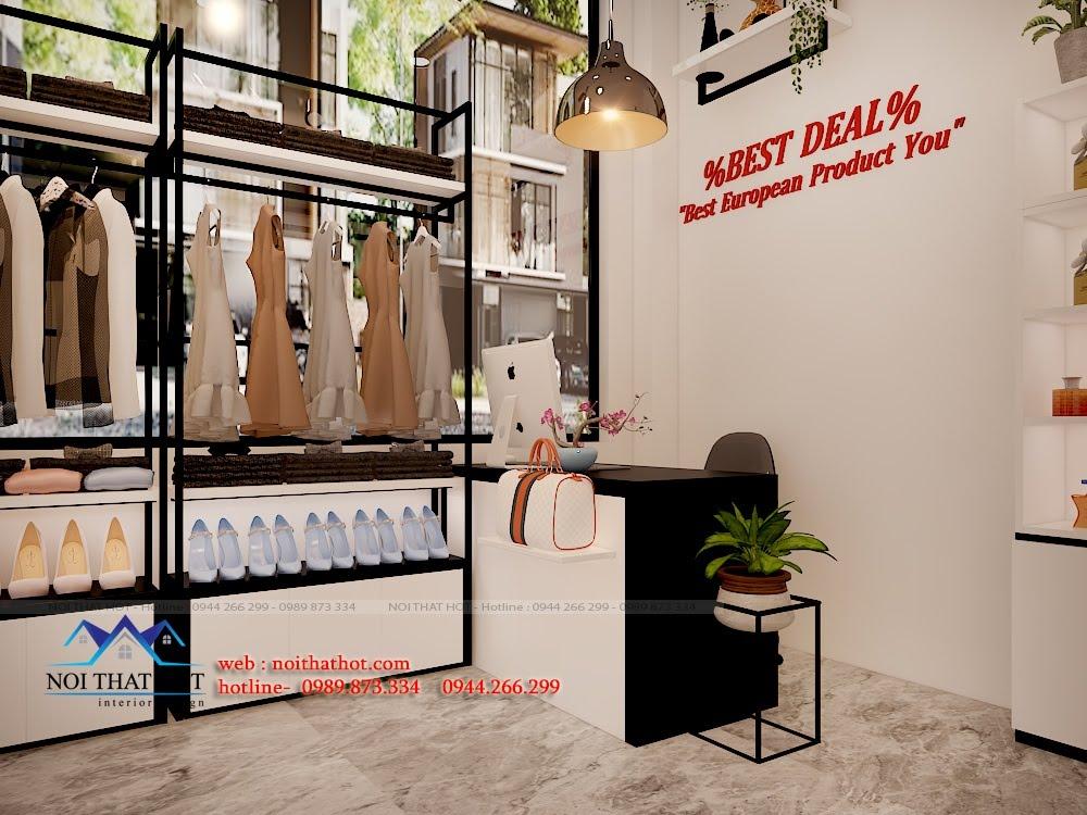 Thiết kế cửa hàng tạp hóa nhập khẩu đẹp