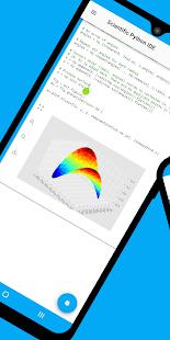Scientific Python IDE (Lite version) - náhled