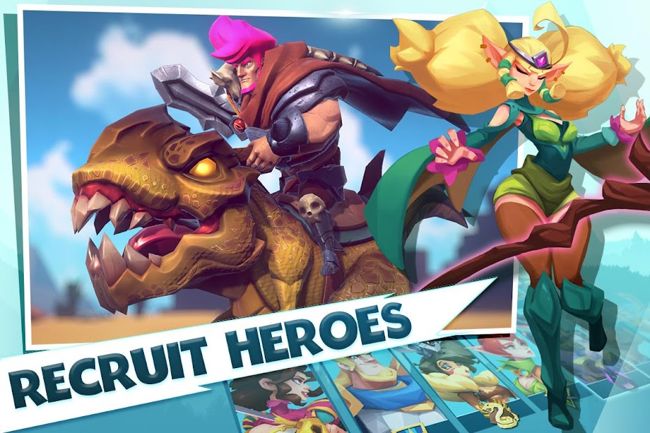 Brave Conquest Android App Screenshot