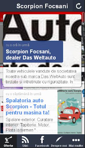 Scorpion Focsani dealer VW