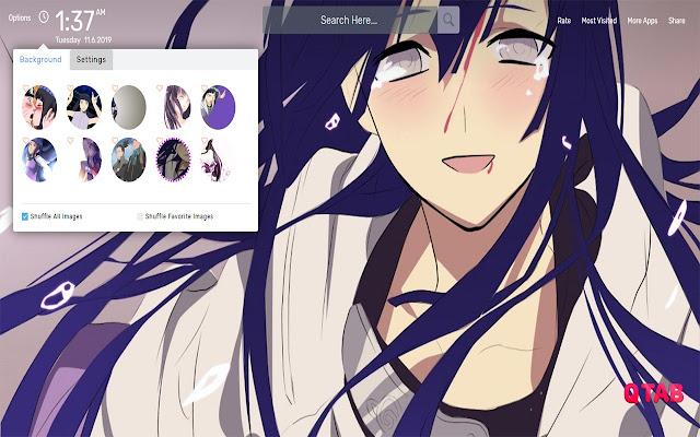 Hinata Hyuga Wallpapers Hd Theme