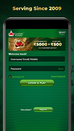 ClassicRummy - Play Free Online Indian Rummy Game APK MOD (Astuce) screenshots 1