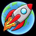 Into Space - Rocket Racing icon
