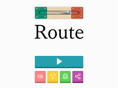 Route - slide puzzle game- screenshot thumbnail
