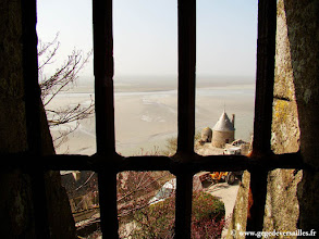 Photo: #022-Les remparts du Mont Saint-Michel