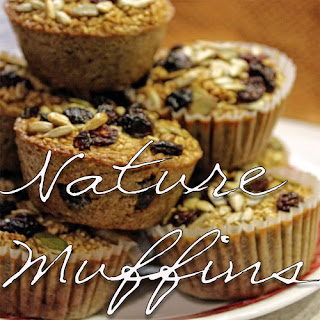 Nature Muffins (baked steel cut oatmeal muffin)