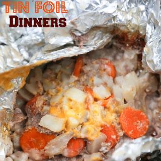 Easy Tin Foil Dinners.