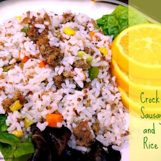 Crock Pot Sausage Rice Recipes.
