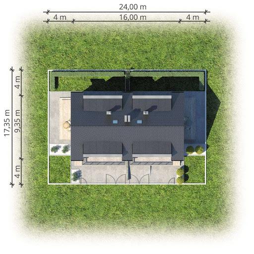 Double House II - Sytuacja