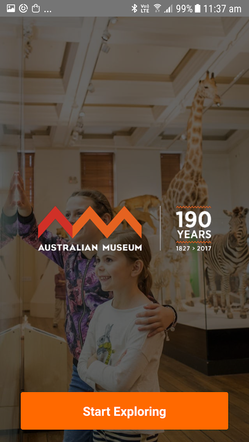 Australian Museum- screenshot