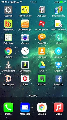 Titan os 9 Launcher i6 theme