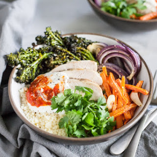 Moroccan Chicken Couscous Bowls