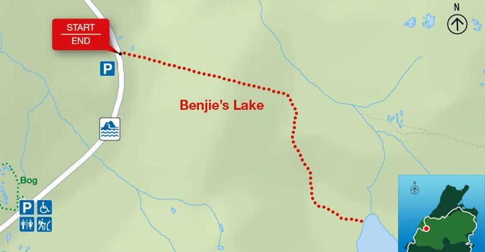 Benjie's Lake, Park Narodowy Cape Breton Highlands