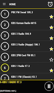 Radio Korea screenshot 1