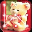Teddy Bear Pattern Lock Screen APK