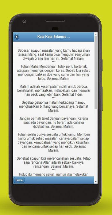 Kata Kata Selamat Malam Android 应用 Appagg