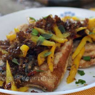 Fried Milkfish with Spicy Tamarind Sauce