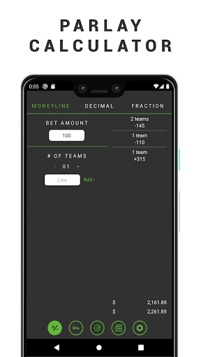 Sport betting parlay calculator football betting apps for android