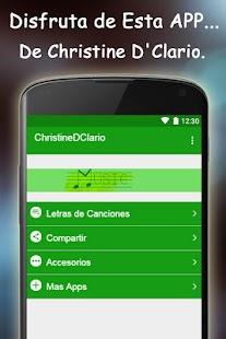 Christine D`Clario Letras de C - náhled