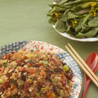 Fried Glutinous Rice with Wind-Dried Meats ('Laap Mei') Recipe