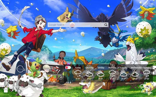 Pokemon New Tab, Wallpapers HD
