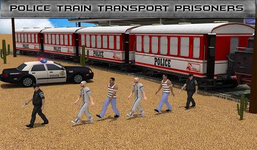 無料模拟Appの警察列車刑務所輸送|HotApp4Game