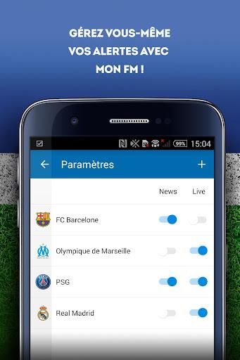 Foot Mercato : transferts, ru00e9sultats, news, live 3.6.10 screenshots 8