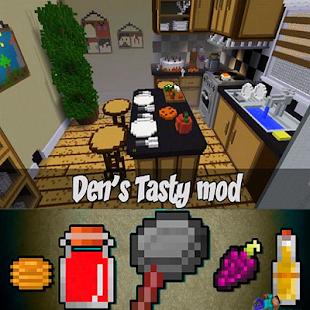 Den's Tasty mod for Mcpe - náhled