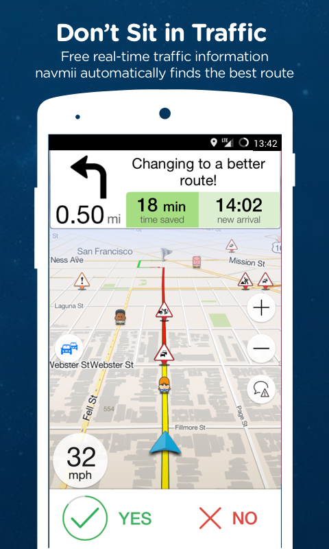 Navmii GPS USA (Navfree)- screenshot