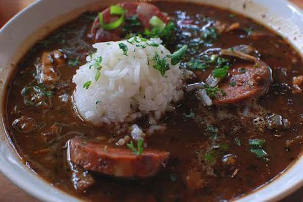 David's Chicken And Sausage Gumbo Recipe