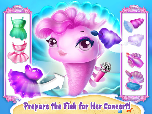 Sweet Baby Girl Mermaid Life - Magical Ocean World 4.0.1 screenshots 16